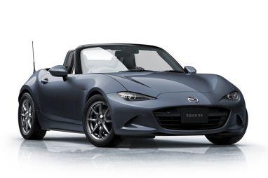 Mazda представила Roadster с серебристым верхом