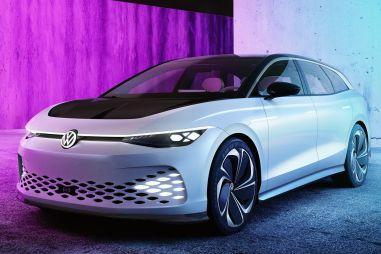 Концепт Volkswagen ID Space Vizzion оказался помесью просторного универсала, кроссовера и GT