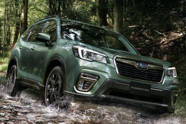 Кроссовер Subaru Forester X-Edition получил водостойкую обивку
