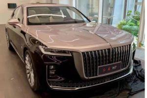 Китайцы заменят престижный седан на базе Toyota Crown подобием Роллс-Ройса (ФОТО)