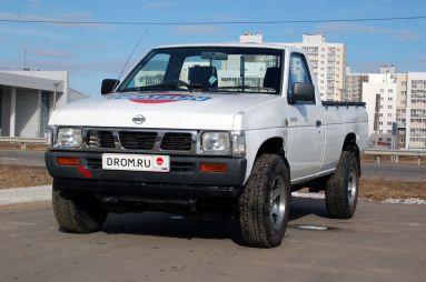 Народное ретро. Nissan Datsun D21 1993 года. Отдыхай, работая!
