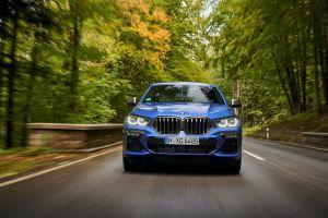 Новый BMW X6: светящиеся «ноздри» и другие чудеса техники