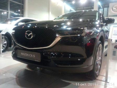 Mazda CX-5 2019 - отзыв владельца
