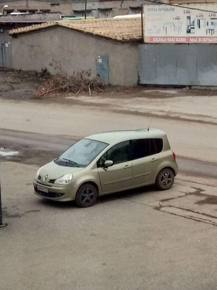 Renault Modus 2009 - отзыв владельца
