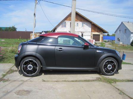 Mini Coupe 2013 - отзыв владельца