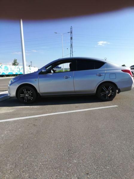 Nissan Latio 2012 - отзыв владельца