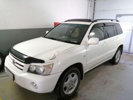 Toyota Kluger V 2002 - отзыв владельца