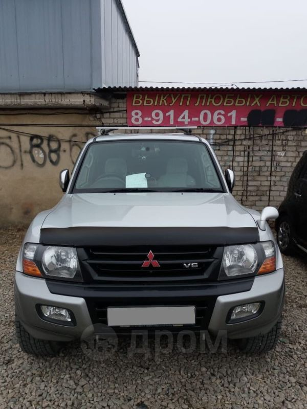 Mitsubishi Pajero, 2000 год, 599 000 руб.