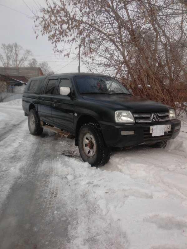 Mitsubishi L200, 2005 год, 535 000 руб.