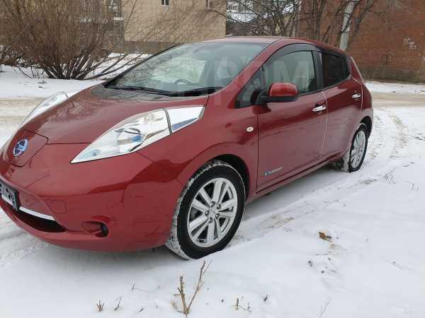 Nissan Leaf, 2014 год, 599 000 руб.