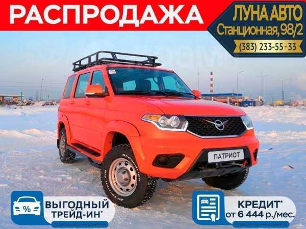 УАЗ Патриот, 2019 год, 1 250 000 руб.