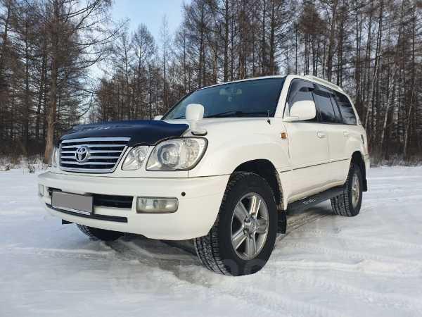 Toyota Land Cruiser Cygnus, 2005 год, 1 250 000 руб.