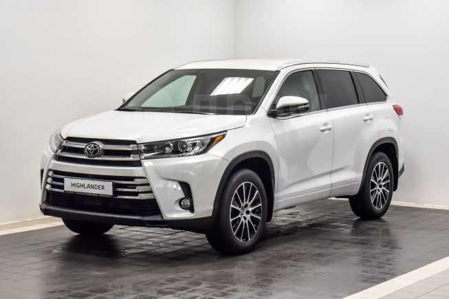Toyota Highlander, 2019 год, 3 588 000 руб.