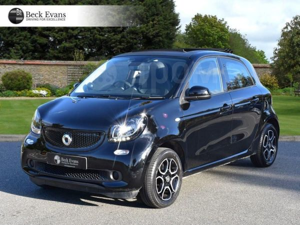 Smart Forfour, 2016 год, 660 000 руб.