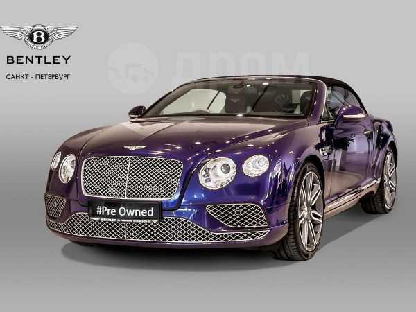 Bentley Continental GT, 2015 год, 8 990 000 руб.