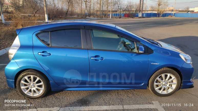 Toyota Aqua, 2014 год, 655 000 руб.