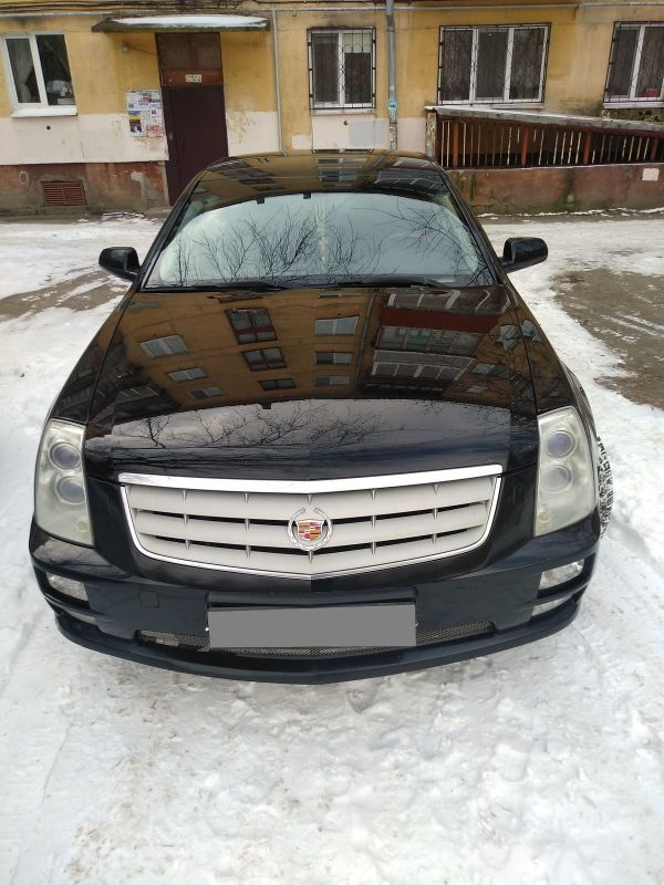 Cadillac STS, 2007 год, 550 000 руб.