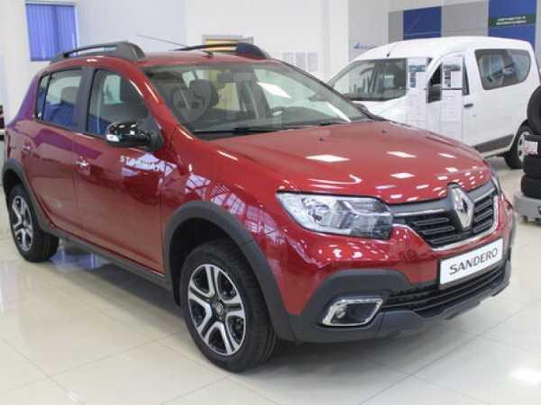 Renault Sandero, 2019 год, 932 980 руб.