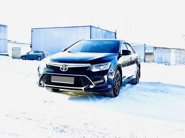 Toyota Camry, 2017 год, 1 590 000 руб.