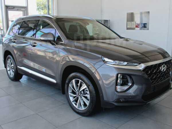 Hyundai Santa Fe, 2019 год, 2 634 000 руб.