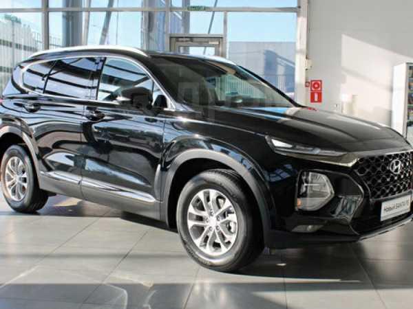 Hyundai Santa Fe, 2019 год, 2 454 000 руб.