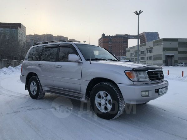 Toyota Land Cruiser, 2000 год, 850 000 руб.