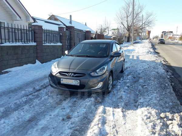 Hyundai Solaris, 2012 год, 389 000 руб.
