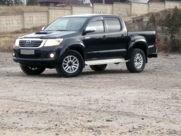 Toyota Hilux Pick Up, 2013 год, 1 430 000 руб.