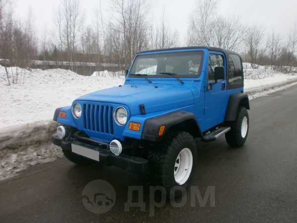 Jeep Wrangler, 1999 год, 570 000 руб.