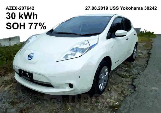 Nissan Leaf, 2016 год, 599 000 руб.