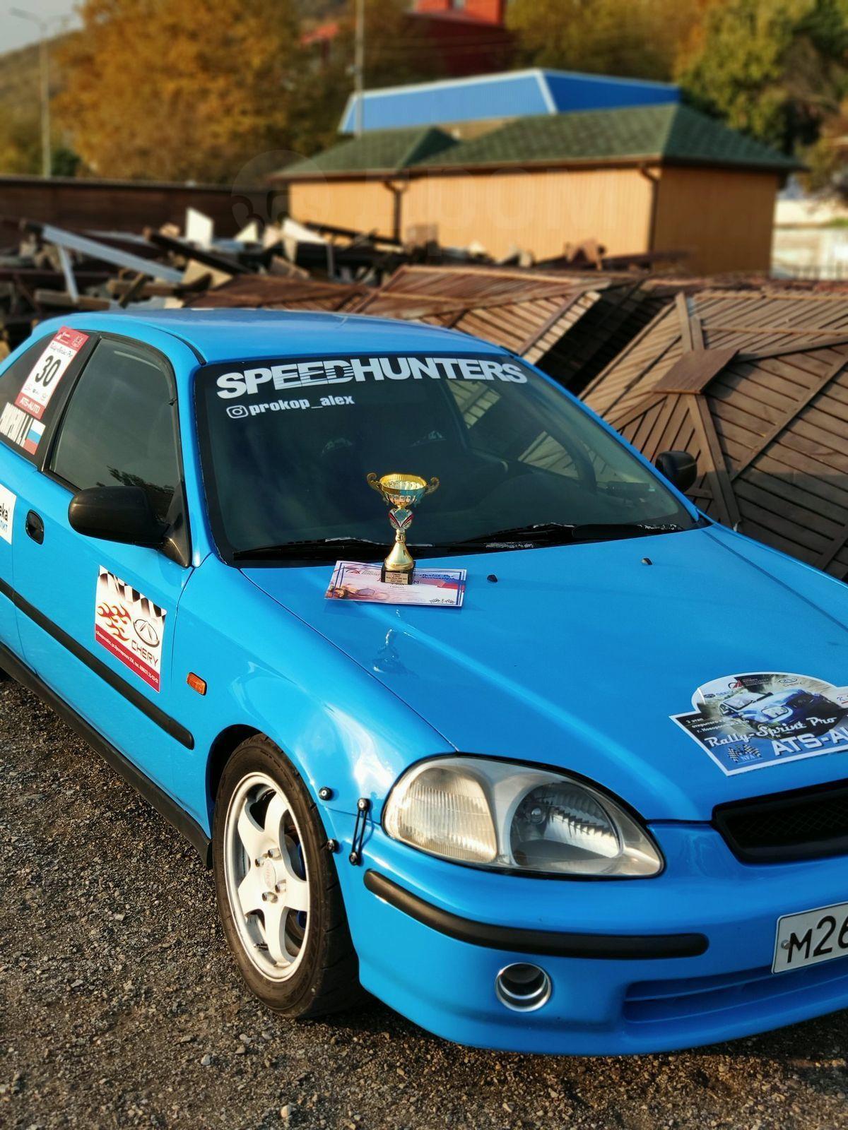 Продажа Хонда Цивик 1998 в Новороссийске, Это чемпионский ...  Хонда Цивик 1998 Хэтчбек