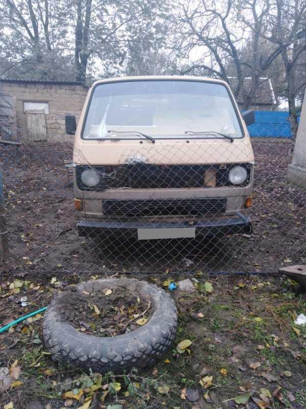 Volkswagen Transporter, 1987 год, 40 000 руб.