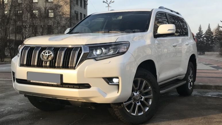 Toyota Land Cruiser Prado, 2018 год, 3 630 000 руб.