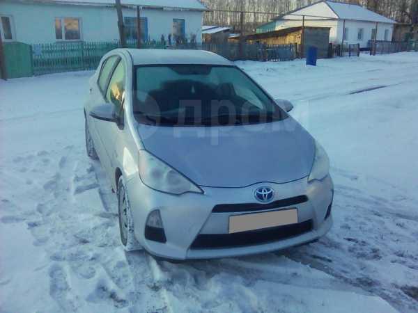 Toyota Prius C, 2012 год, 850 000 руб.
