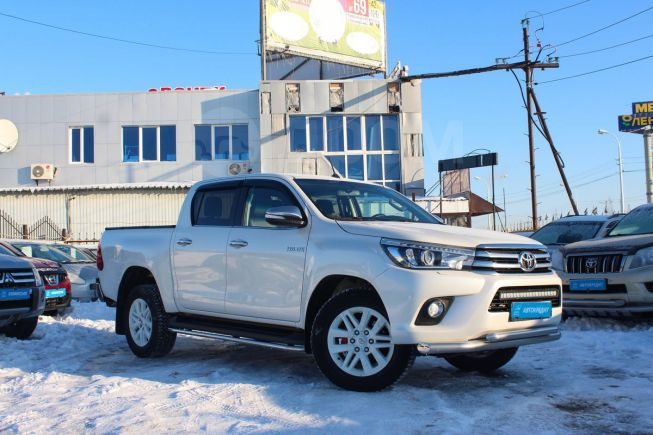 Toyota Hilux Pick Up, 2016 год, 2 089 000 руб.
