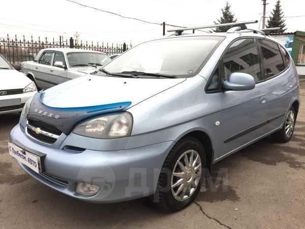 Chevrolet Rezzo, 2007 год, 269 500 руб.