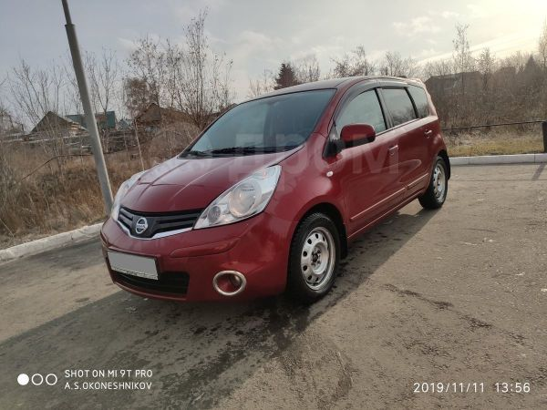 Nissan Note, 2013 год, 555 000 руб.
