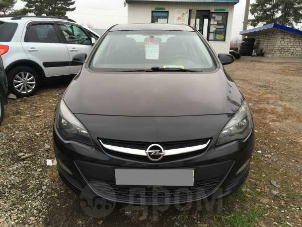 Opel Astra, 2014 год, 640 000 руб.