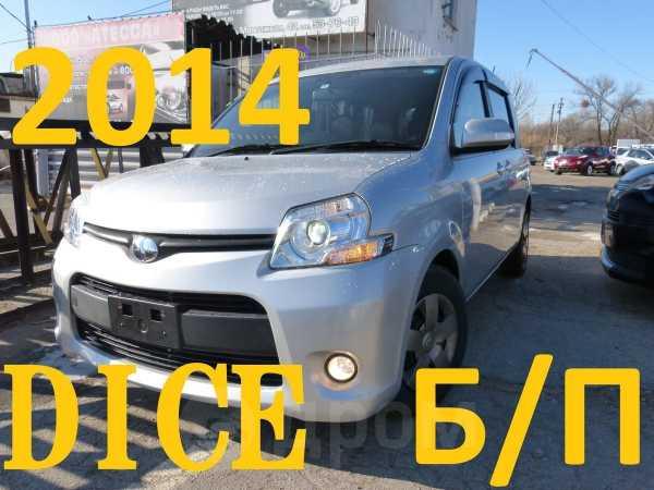 Toyota Sienta, 2014 год, 635 000 руб.