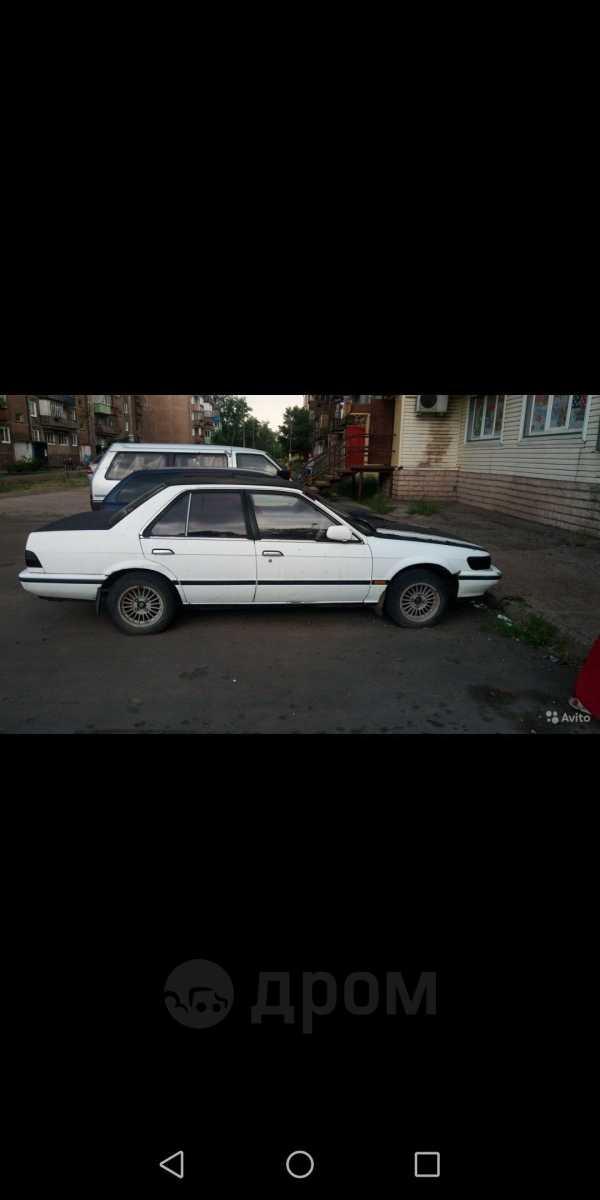 Nissan Bluebird, 1988 год, 60 000 руб.