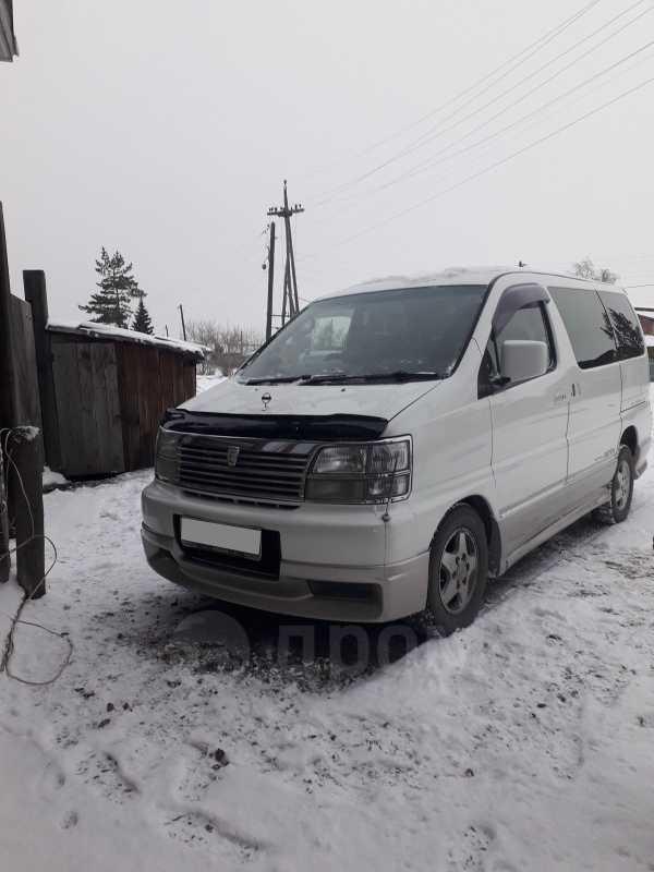 Nissan Elgrand, 2000 год, 600 000 руб.