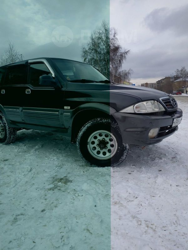 SsangYong Musso, 2003 год, 280 000 руб.