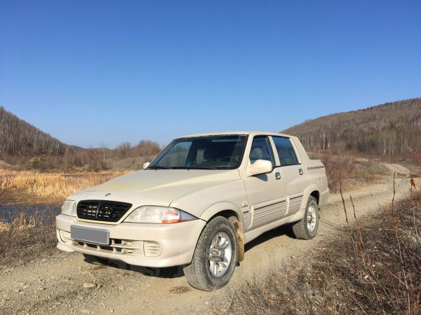 SsangYong Musso Sports, 2005 год, 380 000 руб.