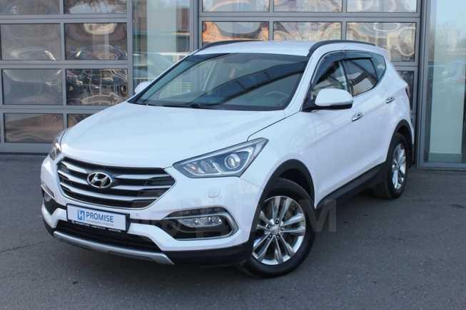 Hyundai Santa Fe, 2017 год, 1 535 000 руб.