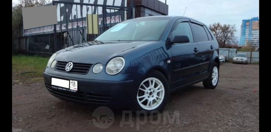 Volkswagen Polo, 2002 год, 183 000 руб.