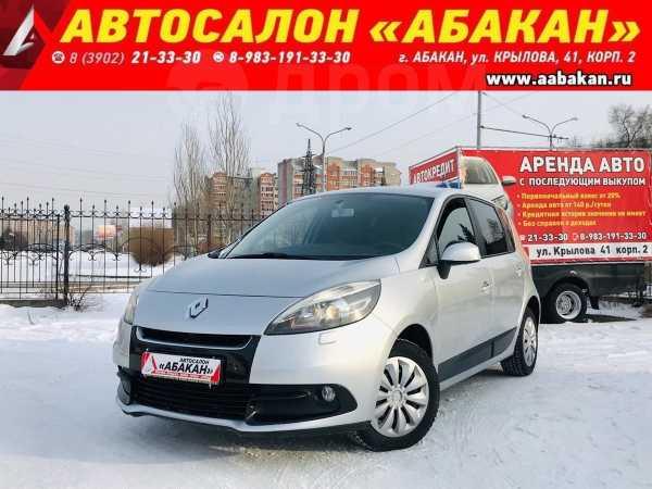 Renault Scenic, 2012 год, 549 000 руб.