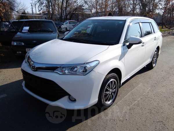 Toyota Corolla Fielder, 2015 год, 860 000 руб.