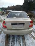 Hyundai Accent, 2004 год, 190 000 руб.
