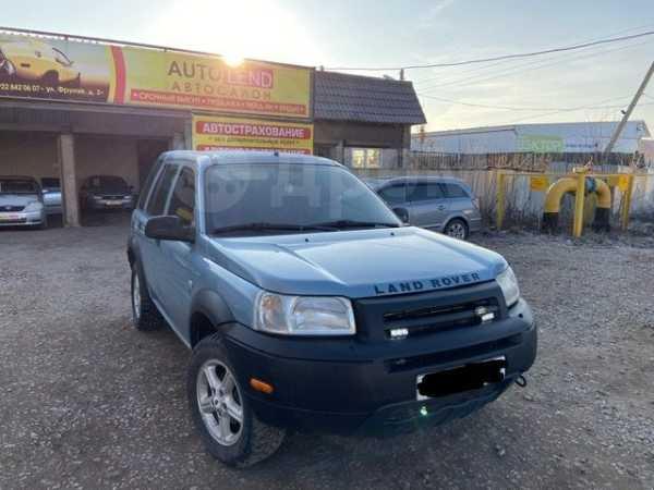 Land Rover Freelander, 2002 год, 357 000 руб.