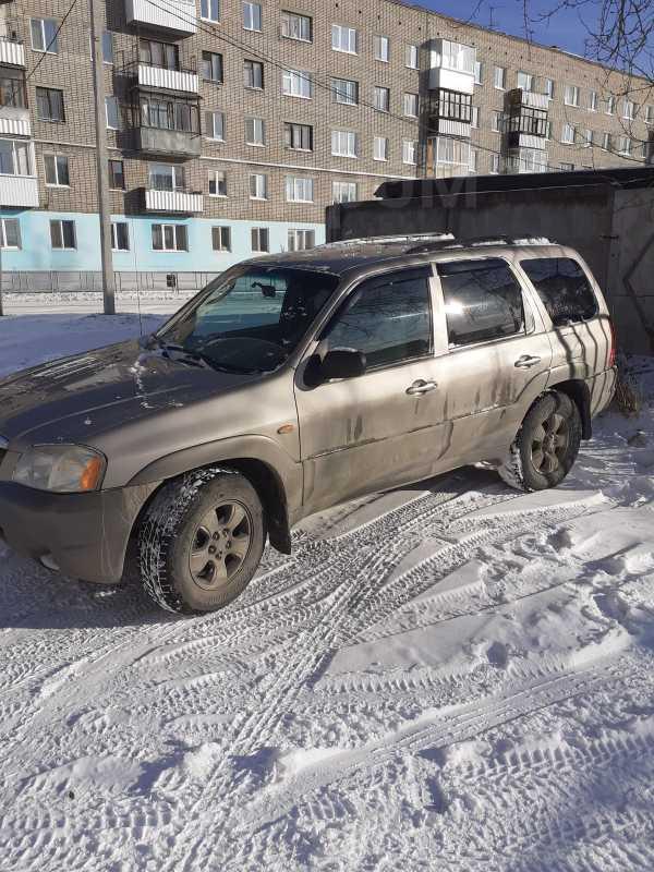 Mazda Tribute, 2002 год, 290 000 руб.